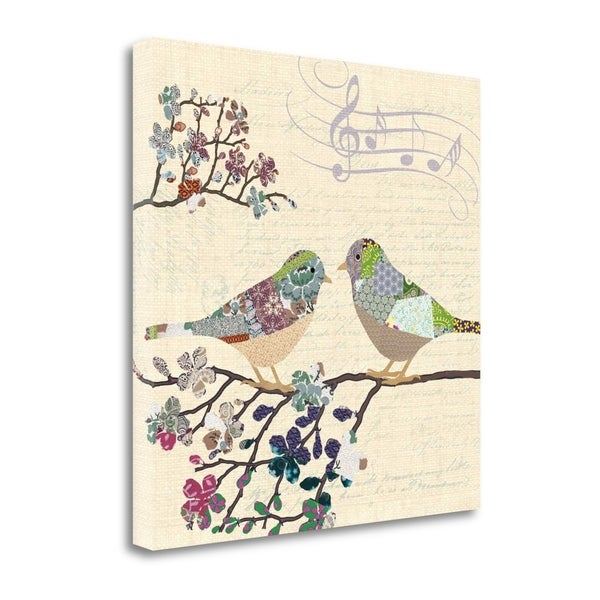 Patch Work Birds II By Piper Ballantyne, Gallery Wrap Canvas