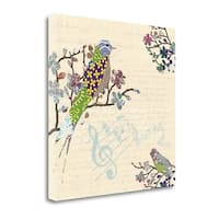 Patch Work Birds I By Piper Ballantyne,  Gallery Wrap Canvas