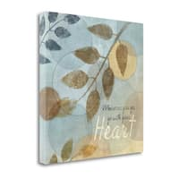 With Your Heart By Piper Ballantyne,  Gallery Wrap Canvas