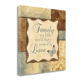 Family Is A Little World By Piper Ballantyne,  Gallery Wrap Canvas