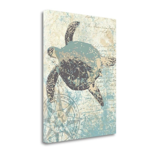 Sea Turtles II By Piper Ballantyne,  Gallery Wrap Canvas