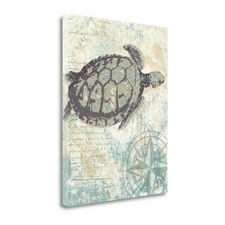 Sea Turtles I By Piper Ballantyne,  Gallery Wrap Canvas