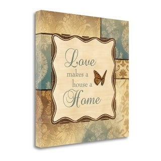 Love Home By Piper Ballantyne,  Gallery Wrap Canvas