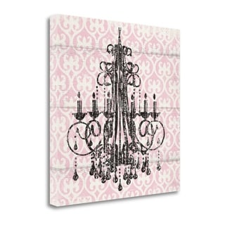 Pink Pattern Chandelier I By Piper Ballantyne,  Gallery Wrap Canvas
