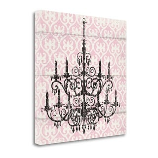 Pink Pattern Chandelier II By Piper Ballantyne,  Gallery Wrap Canvas