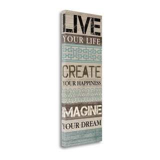 Live Your Life By Piper Ballantyne,  Gallery Wrap Canvas