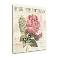 La Rose Romantique By Piper Ballantyne,  Gallery Wrap Canvas
