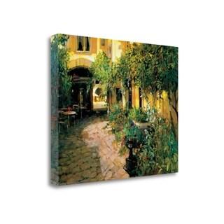 Courtyard - Alsace By Philip Craig,  Gallery Wrap Canvas