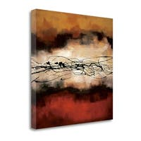 Harmony In Red And Ochre By Laurie Maitland,  Gallery Wrap Canvas