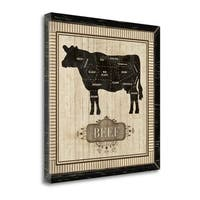 Beef By Piper Ballantyne,  Gallery Wrap Canvas