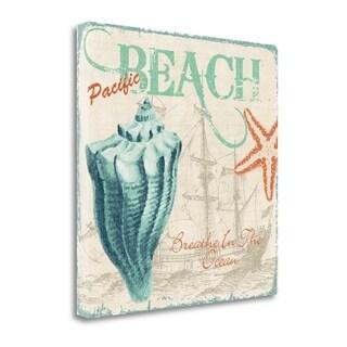 Breathe In The Ocean By Piper Ballantyne,  Gallery Wrap Canvas