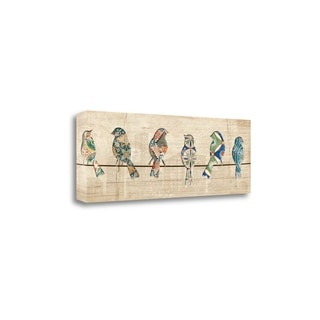 Birds On A Wire By Piper Ballantyne,  Gallery Wrap Canvas