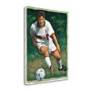 The Art Of Football - The Shot By Glen Green,  Gallery Wrap Canvas
