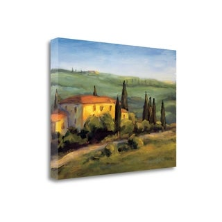A Tuscan Morning By Michael Downs,  Gallery Wrap Canvas
