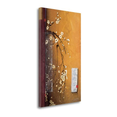 Oriental Blossoms III by Don Li-Leger, Gallery Wrap Canvas