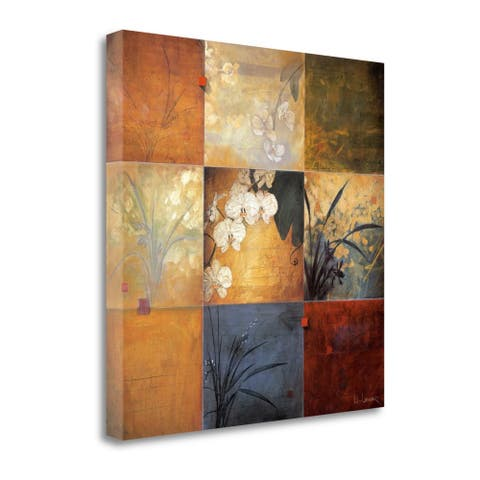Orchid Nine Patch by Don Li-Leger, Gallery Wrap Canvas