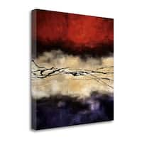 Harmony In Red And Violet By Laurie Maitland,  Gallery Wrap Canvas