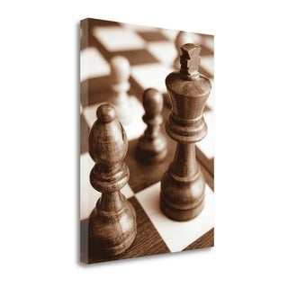 Chess By Jeff,  Gallery Wrap Canvas
