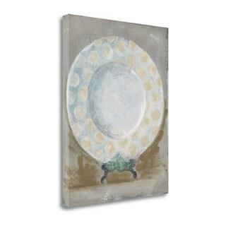 Dinner Plate III By Andrea Stajan-Ferkul,  Gallery Wrap Canvas
