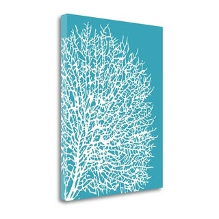Aqua Coral II By Sabine Berg,  Gallery Wrap Canvas