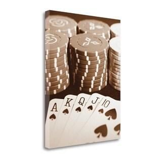 Poker By Jeff,  Gallery Wrap Canvas