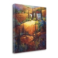 Morning Light Tuscany By Nancy Otoole,  Gallery Wrap Canvas