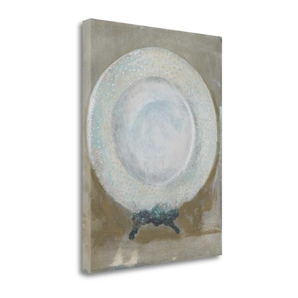 Dinner Plate I By Andrea Stajan-Ferkul,  Gallery Wrap Canvas