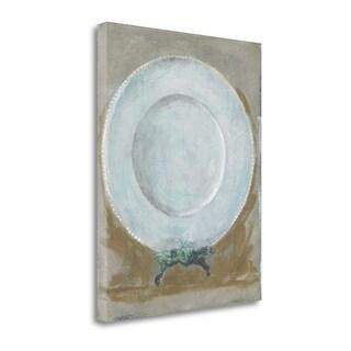Dinner Plate II By Andrea Stajan-Ferkul,  Gallery Wrap Canvas
