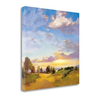 Golden Horizons By Vicki Mcmurry,  Gallery Wrap Canvas