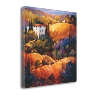 Evening Glow Tuscany By Nancy Otoole,  Gallery Wrap Canvas