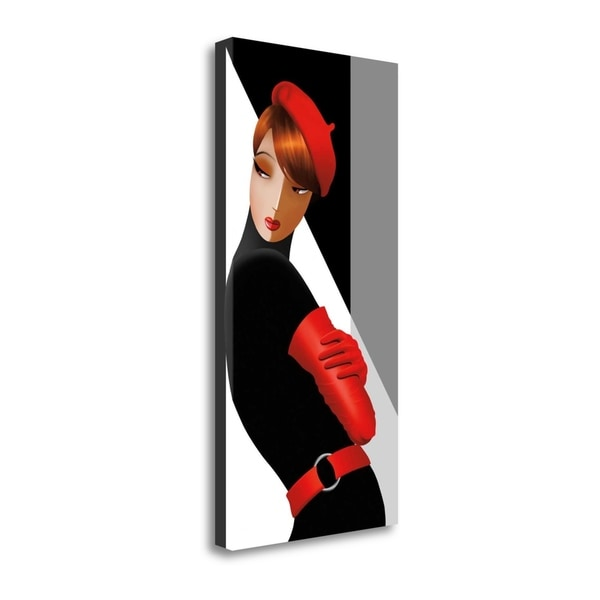 Natasha In Shadows By Jordan Bravo, Gallery Wrap Canvas