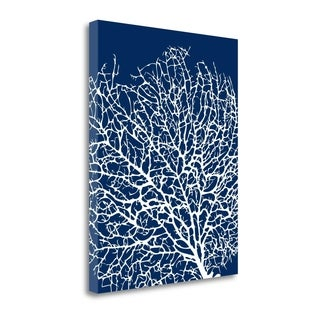 Navy Coral I By Sabine Berg,  Gallery Wrap Canvas