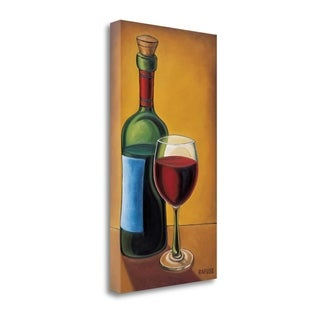 Red Wine By Will Rafuse,  Gallery Wrap Canvas