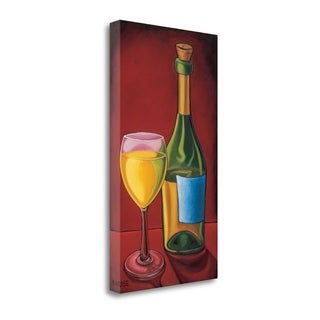 White Wine By Will Rafuse,  Gallery Wrap Canvas