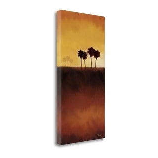 Sunset Palm II By Tandi Venter,  Gallery Wrap Canvas