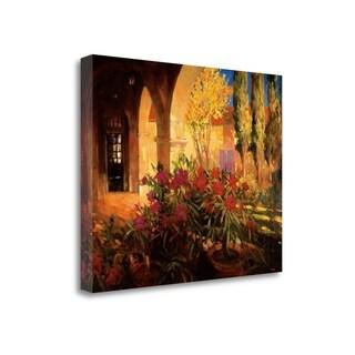 Twilight Courtyard By Philip Craig,  Gallery Wrap Canvas