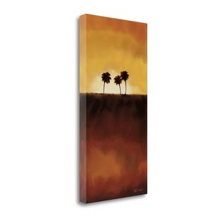 Sunset Palm I By Tandi Venter,  Gallery Wrap Canvas
