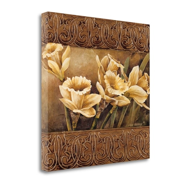 Golden Daffodils II By Linda Thompson, Gallery Wrap Canvas