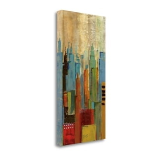 Towerscape I By Jason Cardenas,  Gallery Wrap Canvas