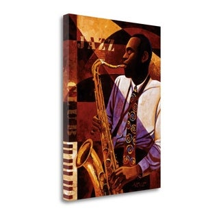 Jazz Club By Keith Mallett,  Gallery Wrap Canvas