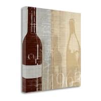Bordeaux II By Tandi Venter,  Gallery Wrap Canvas