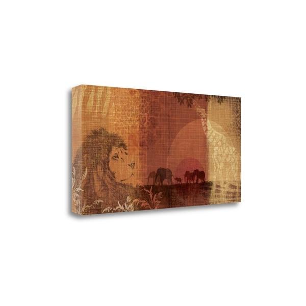 Safari Sunset II By Tandi Venter, Gallery Wrap Canvas