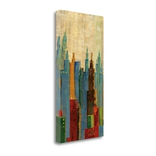 Towerscape II By Jason Cardenas,  Gallery Wrap Canvas