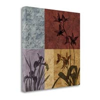 Floral And Still Life Refrain II By Keith Mallett,  Gallery Wrap Canvas