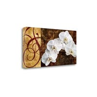 Moonlit Orchids By Keith Mallett,  Gallery Wrap Canvas