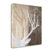 Deer Lodge II By Tandi Venter,  Gallery Wrap Canvas