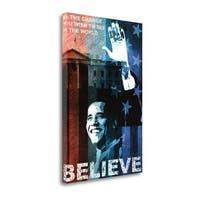 Believe By Keith Mallett,  Gallery Wrap Canvas