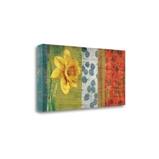 Garden Collection I By Tandi Venter,  Gallery Wrap Canvas