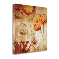 Poppy Heat I By Tandi Venter,  Gallery Wrap Canvas