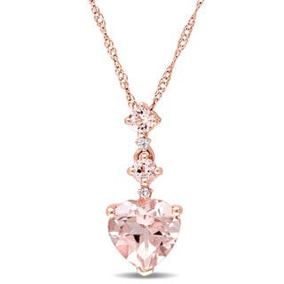 amarilo teardrop morganite necklace products